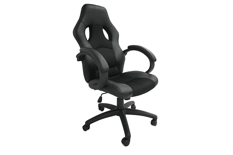 Todeco chaise de bureau simili cuir